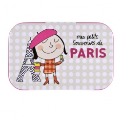 Boite à Tout Souvenirs de Paris - beige
